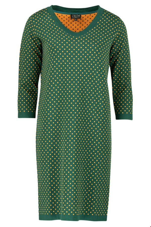 Zilch dress dots